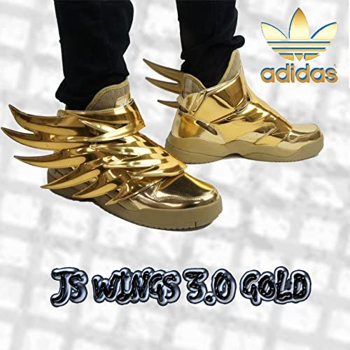 Adidas X Jeremy Scott Men Js Wings 3 0 Gold Size 9 5 Us Shoes