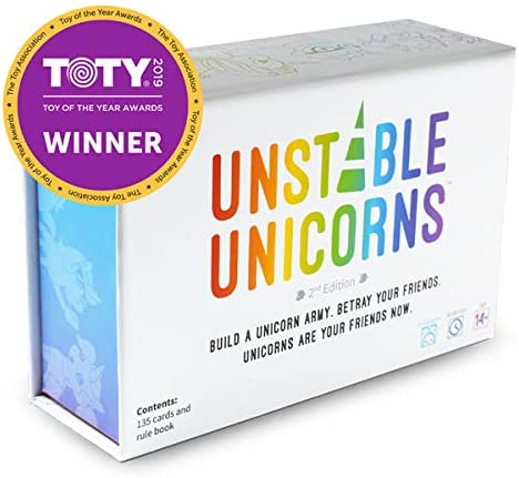 Unstable Unicorns Card Game – A Strategic Card Game and Party Game for Adults & Teens 33% OFF £13.45 @ Amazon