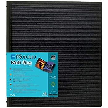 Amazon.com: Itoya Profolio multiring cartón Negro: Camera ...