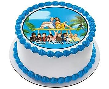 Amazon Teen Beach Movie 2 Edible Birthday Cake OR Cupcake