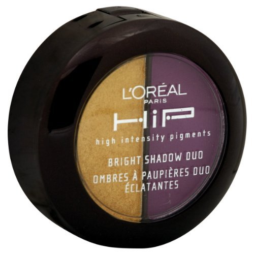 L'Oreal HiP High Intensity Pigments Bright Shadow Duo, Flamboyant 538 by L'Oreal Paris L' Oreal 071249101780