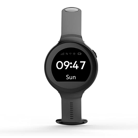 Latest ZGPAX S668 GPS Smart Watch Life Waterproof Round Screen Android Wristwatch GPS SOS Remote Monitoring