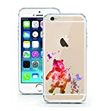 iPhone 5 5S SE Case by licaso for the iPhone 5 5S SE TPU Disney Winnie Pooh Fairytale Water Color Case Clear Protective Cover iphone5 Mobile Phone Sleeve Bumper (iPhone 5 5S SE, Winnie Aquarell)