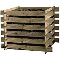 Loggyland Holz Kompostsilo Bausatz 120x120x70cm