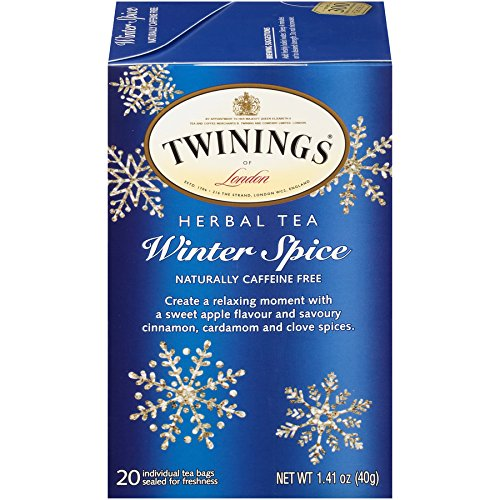 (Twinings of London Winter Spice Herbal Tea Bags, 20 Count (Pack of 6))