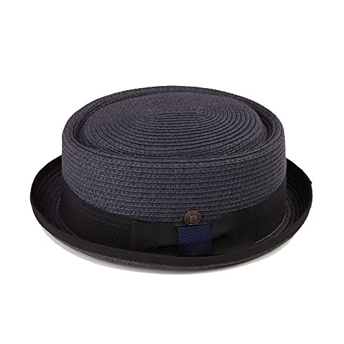 15323d93851f0a Dasmarca Mens Summer Paper Straw Telescope Crown Retro Porkpie Hat - Buy  Online in Oman. | Apparel Products in Oman - See Prices, Reviews and Free  Delivery ...