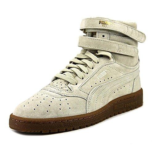 PUMA Sky II Hi NBK Women US Beige Sneakers