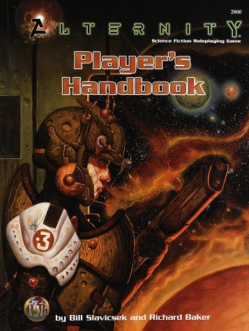 Alternity Player's Handbook (Alternity Sci-Fi Roleplaying, Core Book, 2800) (Best Sci Fi Rpg)