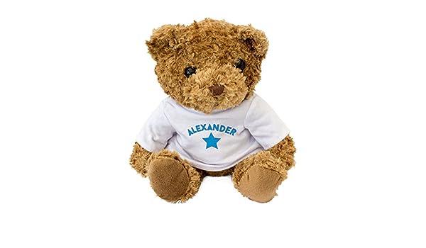 Amazon.com: NUEVO - ALEXANDER - Osito De Peluche - Adorable Lindo - Regalo Obsequio: Toys & Games