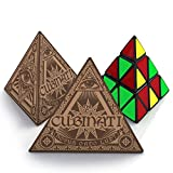 Pyraminx Speed Cube: Superior Performance Triangle Toy, Smooth Operation, Tight Corner Cutting - Best Selling Illuminati Game in the World
