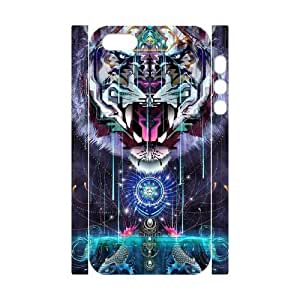 Tiger Brand New 3D Cover Case for Iphone 5,5S,diy case cover ygtg539958