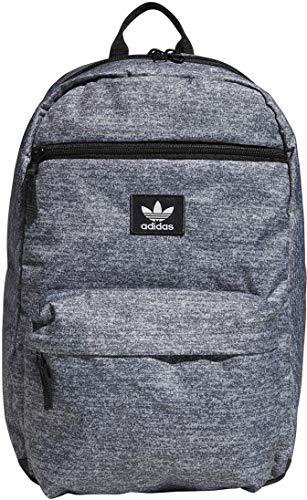 adidas Originals National Backpack, Med Grey, One (Best Adidas Cool Backpacks)