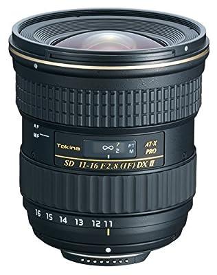 Tokina 11-16mm f/2.8 AT-X116 Pro DX II Digital Zoom Lens (AF-S Motor) (for Ni... by Tokina