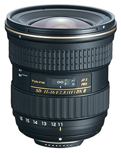 Tokina 11-16mm f/2.8 AT-X116 Pro DX II Digital Zoom Lens
