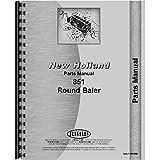 New Holland 851 Round Baler Parts Manual (OEM)