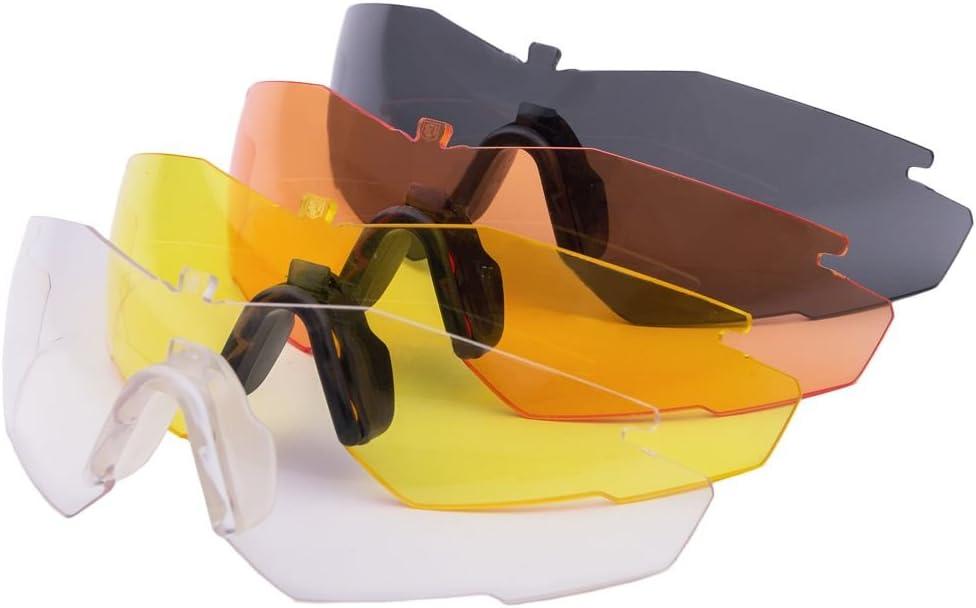 Revision Military 4-0152-0013 Replacement Lenses-Stingerhawk Eyewear, Yellow