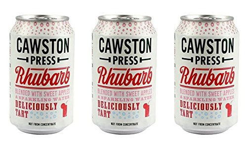 (3 PACK) - Cawston Sparkling Rhubarb Can | 330ml | 3 PACK - SUPER SAVER - SAVE MONEY