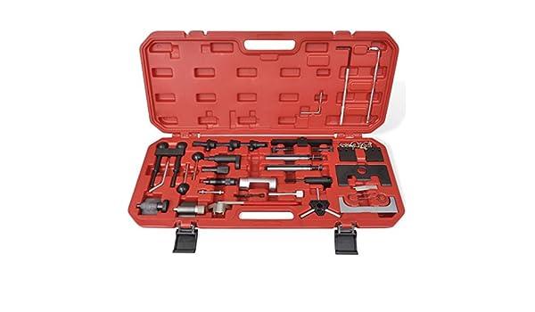 Weilandeal Kit de herramienta de ajuste de bloqueo Diesel y gasolina Herramientas de distribucionVolkswagen Bora, Caddy, Fox, Golf, Lupo, New Beetle, ...
