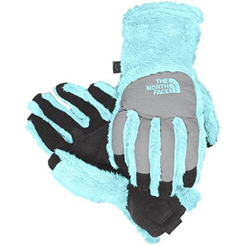 The North Face Denali Thermal Etip Girls (Blue Denali Fleece)