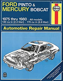 ford pinto & mercury bobcat, 1971 1980 shop manual alan ahlstrand 1955 ford turn signal wiring diagram ford pinto & mercury bobcat 1975 1980 automotive repair manual