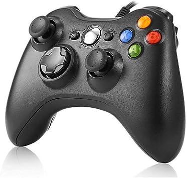 JAMSWALL Xbox 360 Mando de Gamepad, Controlador Mando USB de Xbox ...