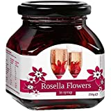 Rosella Wild Hibiscus 11 Flowers in Syrup 250g - Hibiscus Flowers for Champagne Decoration