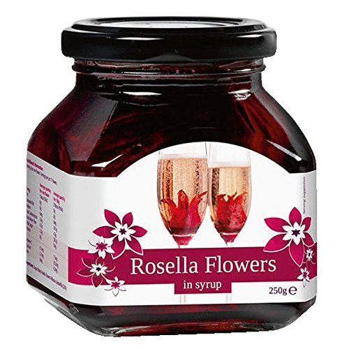 Rosella Wild Hibiscus 11 Flowers In Syrup 250g Hibiscus Flowers