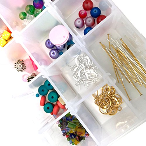 Make Your Own Necklaces And Jewelry At Home: Make Your Own Pierced Earrings Jewelry Kit-Supplies