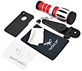 Apexel 20x Optical Zoom Aluminum Telephoto/Telescope Lens Kit with Tripod/Back Case for Apple iPhone 4/4S