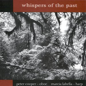 Cover of Whispers of the Past for Oboe & Harp