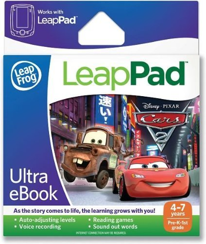 LeapPad Ultra eBook Cartrdge Disney Pixar Cars 2