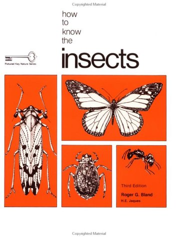 How to Know the Insects (Pictured Key Nature Series)