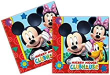 Perona - Pack 20 servilletas 33 x 33 cm, Mickey Mouse (50862)