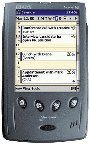 Hewlett Packard Jornada 540 Color Pocket PC by HP (Image #5)