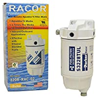 Filtro de combustible Racor Separador de agua Tazón de metal