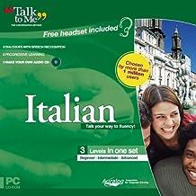 Talk To Me Italian (Beginner-Intermediate-Advanced)
