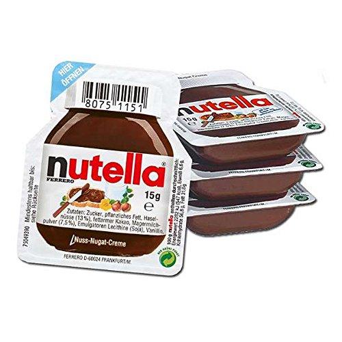 Ferrero Nutella Chocolate Hazelnut Spread Sachets, 15 Grams X Pack Of 4