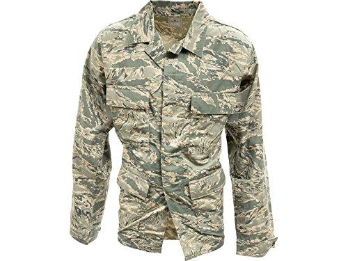 [Military Surplus Airman Battle Uniform Coat Grade 1 ABU Camo 44 Regular] (Air Battle Uniform)