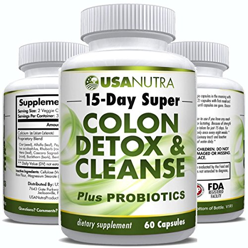 Colon Detox Cleanse plus PROBIOTICS product image