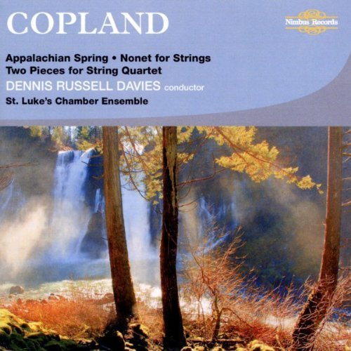 Appalachian Spring, Nonet, 2 pieces for String Quartet by St. Luke's Chamber Ensemble -