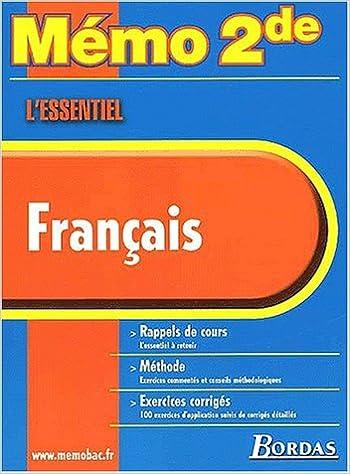 Telechargement De Livres Pdf Google Memo Essentiel Francais