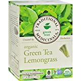 Traditional Medicinals Green Tea Lemongrass, 16 Bags