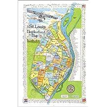 St Louis Neighborhood Map