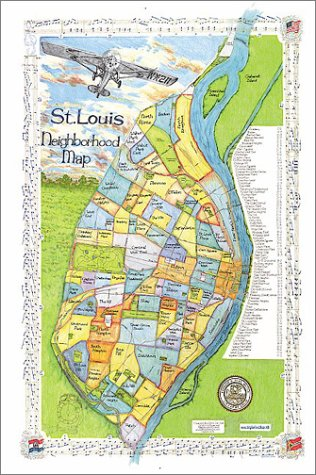 St. Louis Neighborhood Map: Inc. Big Stick: 9781929687060: Amazon ...