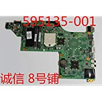 Calvas 595135-001 - Placa base para computadora portátil Pavilion DV6-3000 DV6 NOTEBOOK DA0LX8MB6D1 REV:D (100% probado)