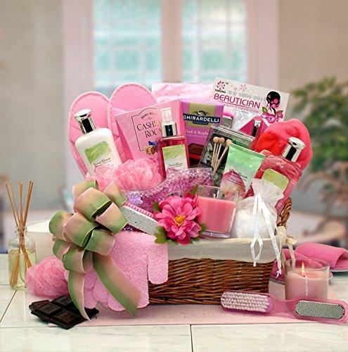 Womens Gift Sweet Blooms Spa Gift Basket