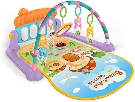TONGJI Gimnasio Piano Pataditas Manta Actividades Bebe con M/úsica Alfombra de Juegos Manta de Juego para Bebes Recien Nacidos 76 x 60 x 45cm