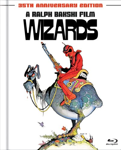 Wizards (35th Anniversary Edition) [Blu-ray Book]