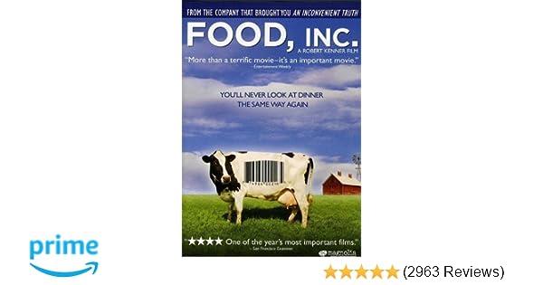 Amazon Food Inc Eric Schlosser Robert Kenner Movies Tv