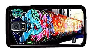 Hipster Personalized custom Samsung Galaxy S5 Cases Graffiti Artwork PC Black for Samsung S5